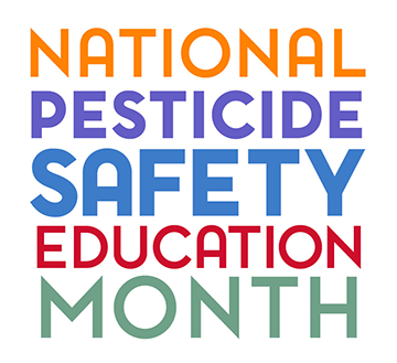 National Pesticide Safety Education Month logo