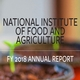 National Institute of Food and Agriculture 2018 Annual Report