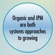 IPM and Organic: Limitations, Commonalities, and Differences