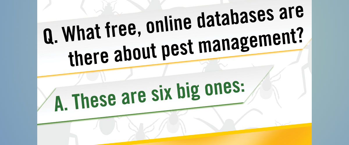 Pest Management Databases Infographic