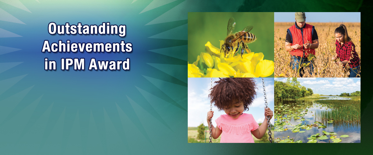 Call for Nominations: 2020 Outstanding Achievements in Integrated Pest Management Award